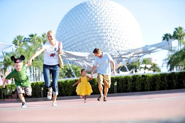 Familia en Disney