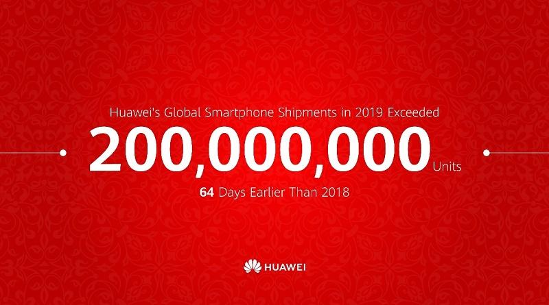 Huawei 200 millones