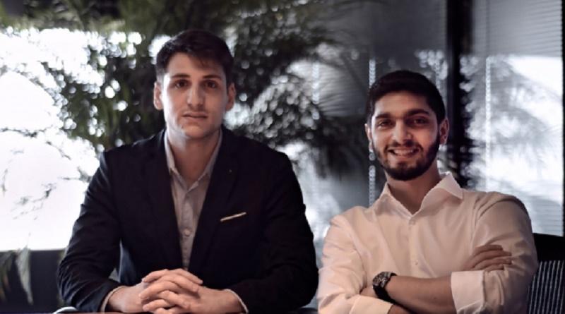 De izquierda a derecha: Nicolás Ovalle y Bruno Petcho, cofounders de Spotlike.