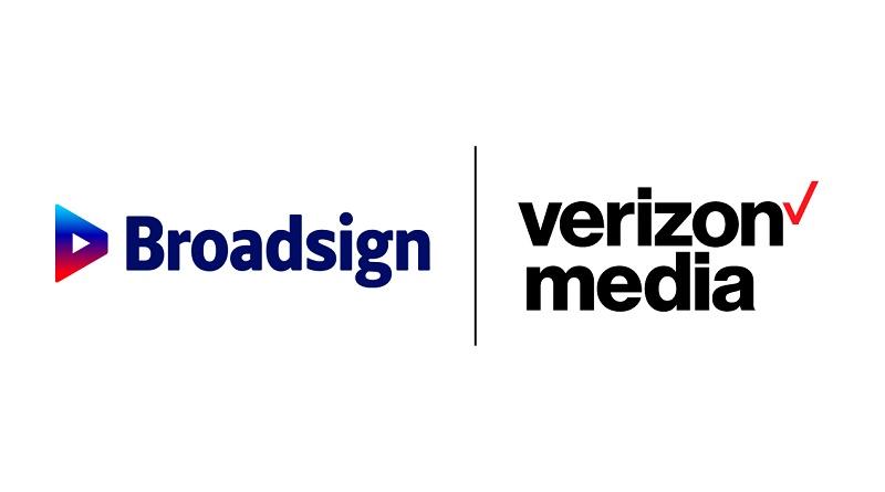 Verizon Media y Broadsign