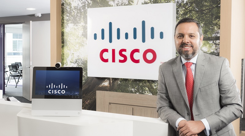 Javier Castro, Country Manager de Cisco en Colombia