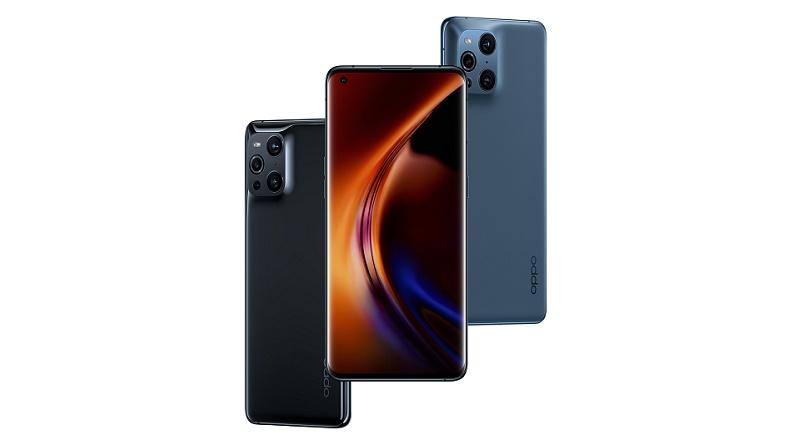 Find X3 Pro Gloss Black Blue 3K