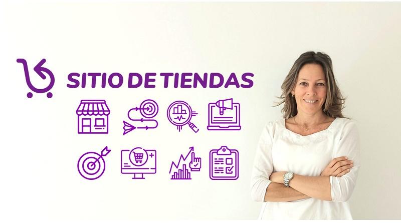 Andrea Bertone, fundadora de Sitio de Tiendas