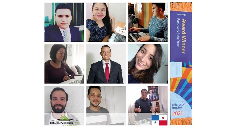 Business IT Panama Partner of the Year 2021 Microsoft